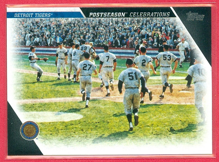 """Detroit Tigers"" 2017 TOPPS BASEBALL CHASE CARD"