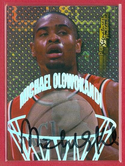 """Michael Olowokandi"" SP RC AUTOGRAPH CHASE CARD"