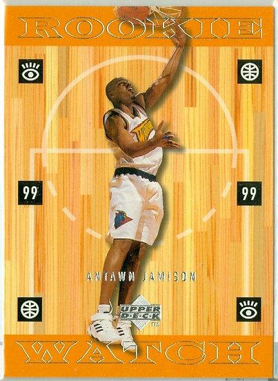 """Antawn Jamison"" SP ROOKIE WATCH CARD #315"