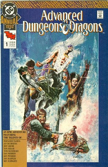 "DC COMICS 1990 ""DUNGEONS & DRAGONS"" ANNUAL #1"