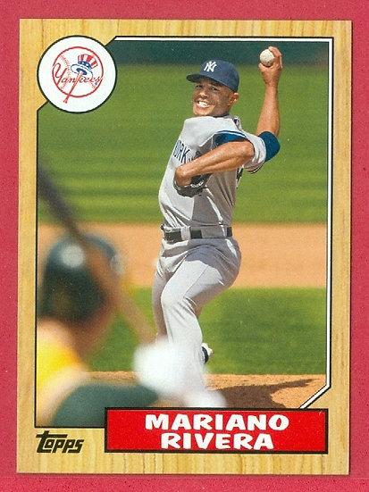 """Mariano Rivera"" 2012 TOPPS MINIS CHASE CARD #TM36"