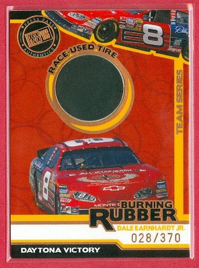 """""""Dale Earnhardt Jr"""" SP RACE-USED TIRE #'ed 028/370"""