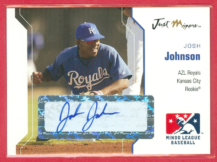 """Josh Johnson"" SP ROOKIE AUTOGRAPH CHASE CARD"