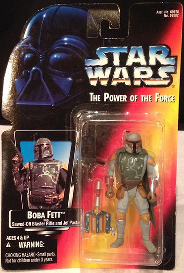 """Boba Fett (Full Circles)"" STAR WARS ACTION FIGURE"