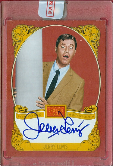 """""""Jerry Lewis"""" SSP FACTORY SEALED AUTOGRAPH CARD"""
