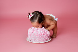 orange county cake smash photography