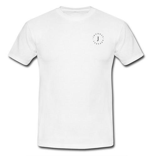 White T-Shirt - Small Circle Logo