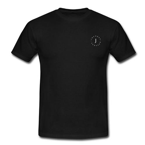 Black T-Shirt - Small Circle Logo