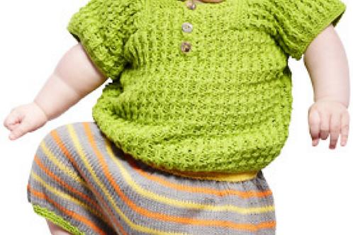 Babysett: vest og shorts