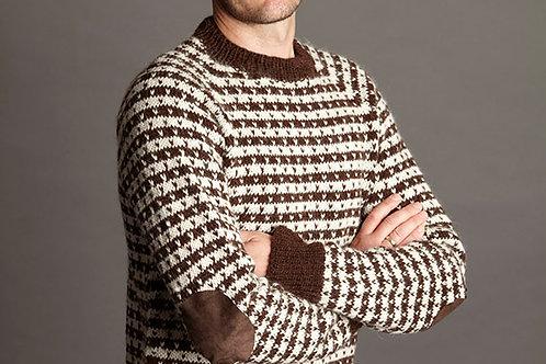 Klassisk herre sweater med lus