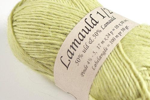Lysegrønn (6362) Lamauld (lys lime)