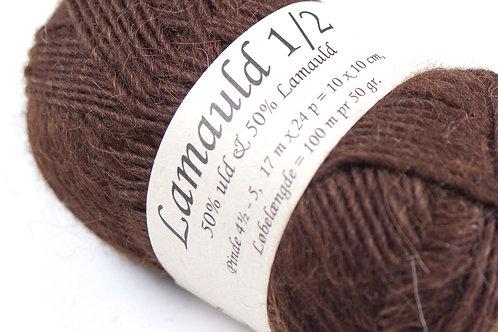 Mørkebrun (6202) Lamauld