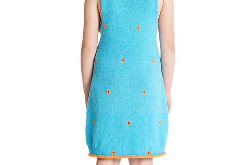 Prikkete kjole