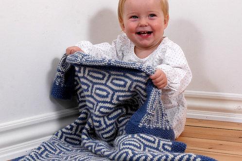 Babyteppe i strukturmønster
