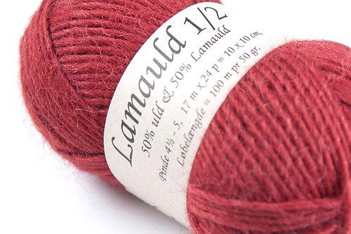 Rød (6061) Lamauld