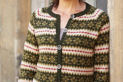 Louisa Damecardigan med mønster