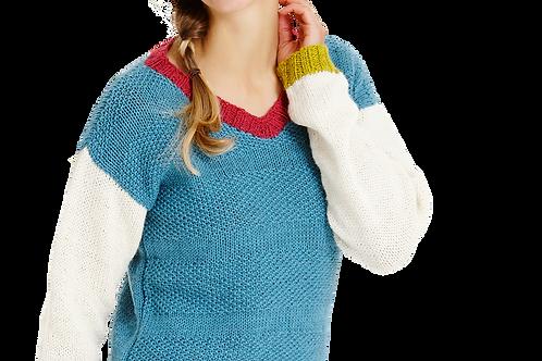 Blok-sweater