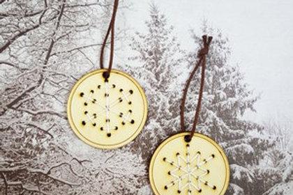 Julepynt - Snøfnugg - 1 stk
