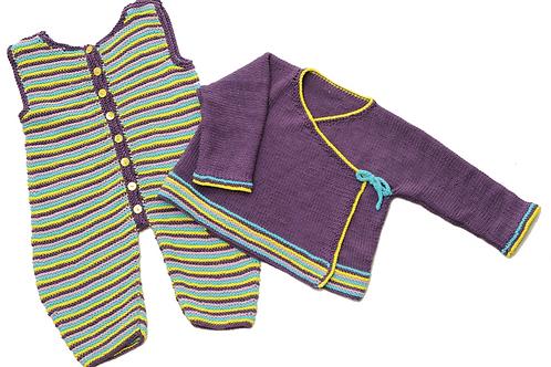 Kimonojakke og overall