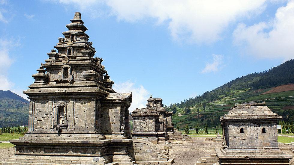 Borobudur Temple and Dieng Plateau