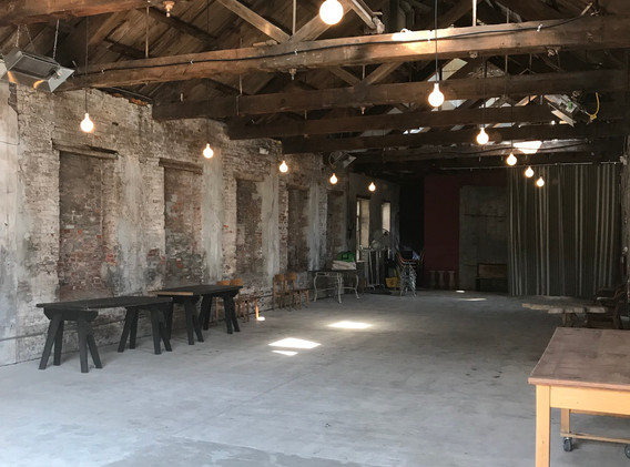 Empty Barn Space