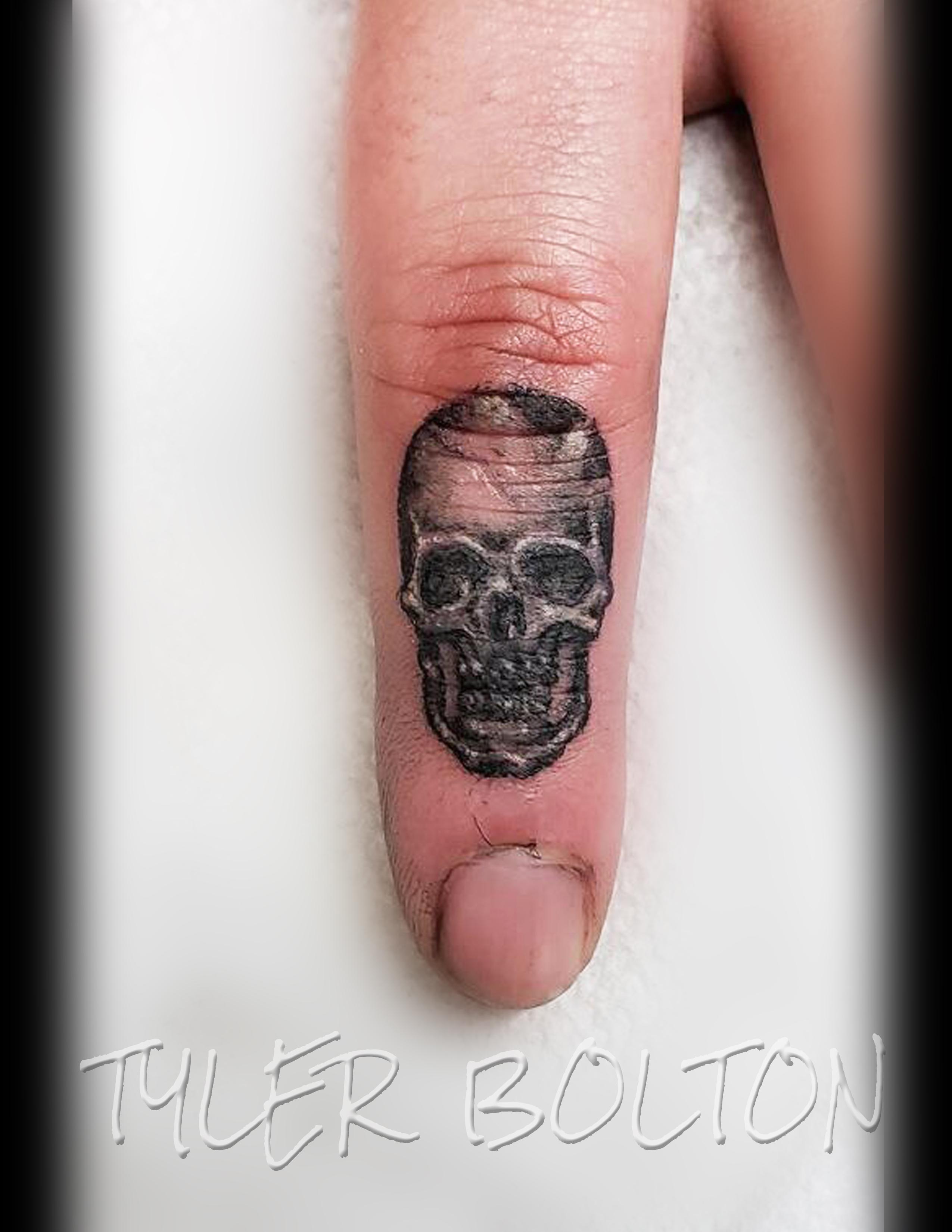 Skull finger