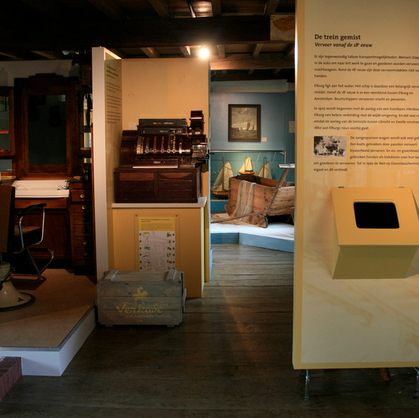 Museum Elburg - herinrichting museum