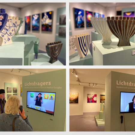 Museum Sjoel Elburg - tentoonstelling Lichtdragers