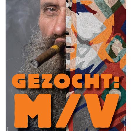 Museum Nairac - tenoonstellingsvormgeving 'Gezocht: M/V'