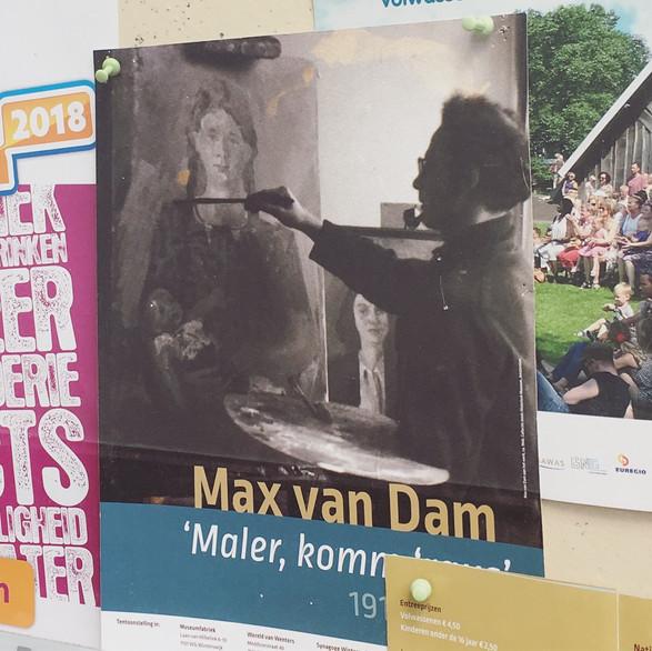 Cultuurprojecten - tentoonstellingsvormgeving 'Maler, komm 'raus'