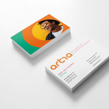 artra | dé opleider voor arbeidmarktprofessionals - restyling logo, huisstijl, branding