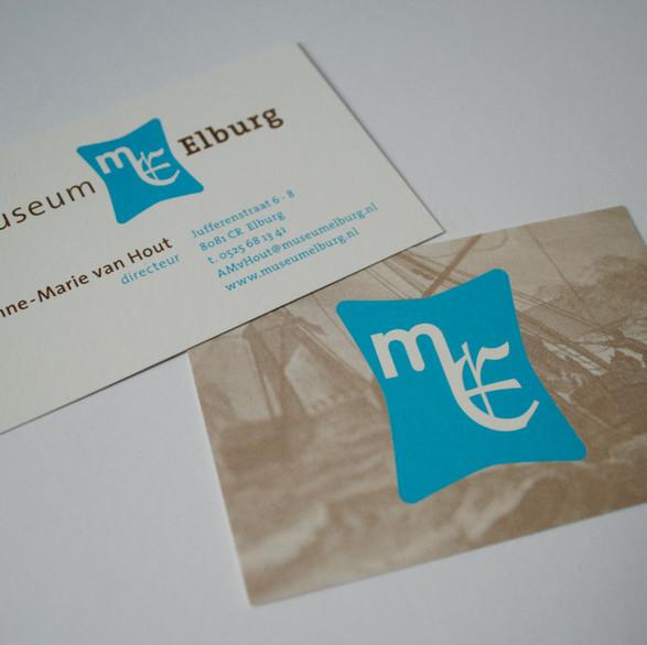 Museum Elburg - logo, huisstijl