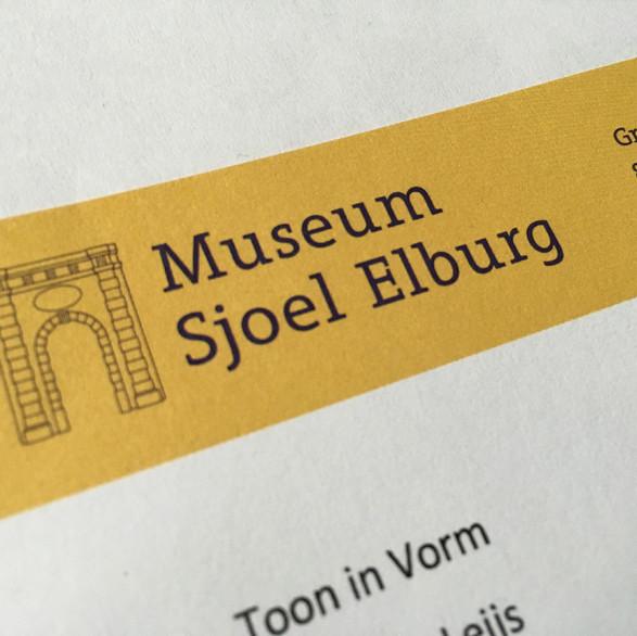 Museum Sjoel Elburg - restyling logo, huisstijl