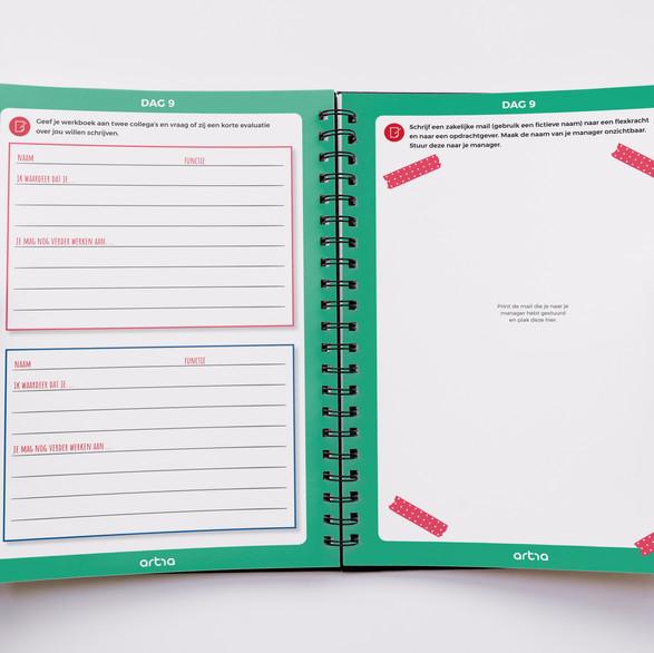 artra | dé opleider voor arbeidmarktprofessionals - werkboek voor uitzendprofessionals