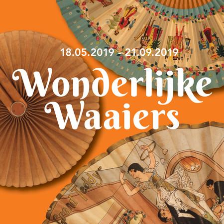 Museum Nairac - tentoonstellingsvormgeving 'Wonderlijke Waaiers'