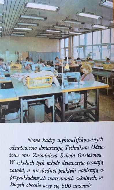 Obrazek ze szkoły przyzakładowej