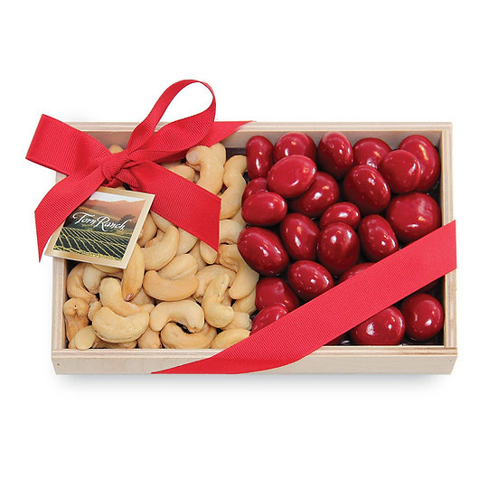 Colossal Cashews and Chocolate Covered Cherries