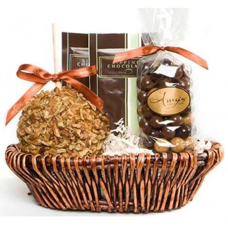 Caramel Apple Gourmet Petite Gift Basket