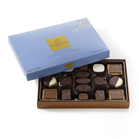 Godiva Assorted Chocolate Biscuit Gift Box
