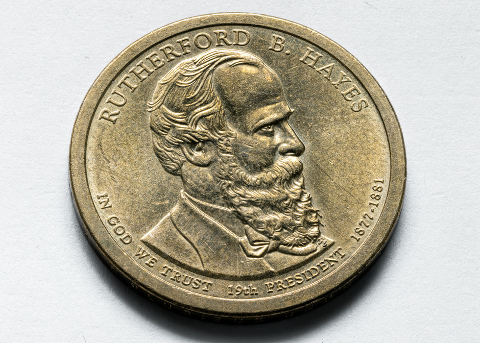 2011 Rutherford B. Hayes Presidential $1 Coin