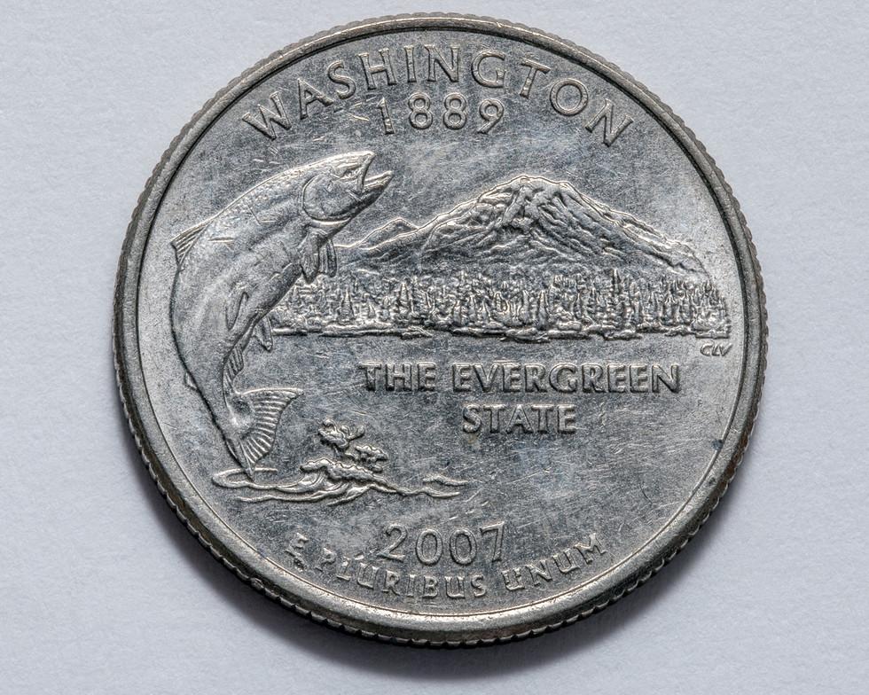 2007 Washington Quarter Dollar