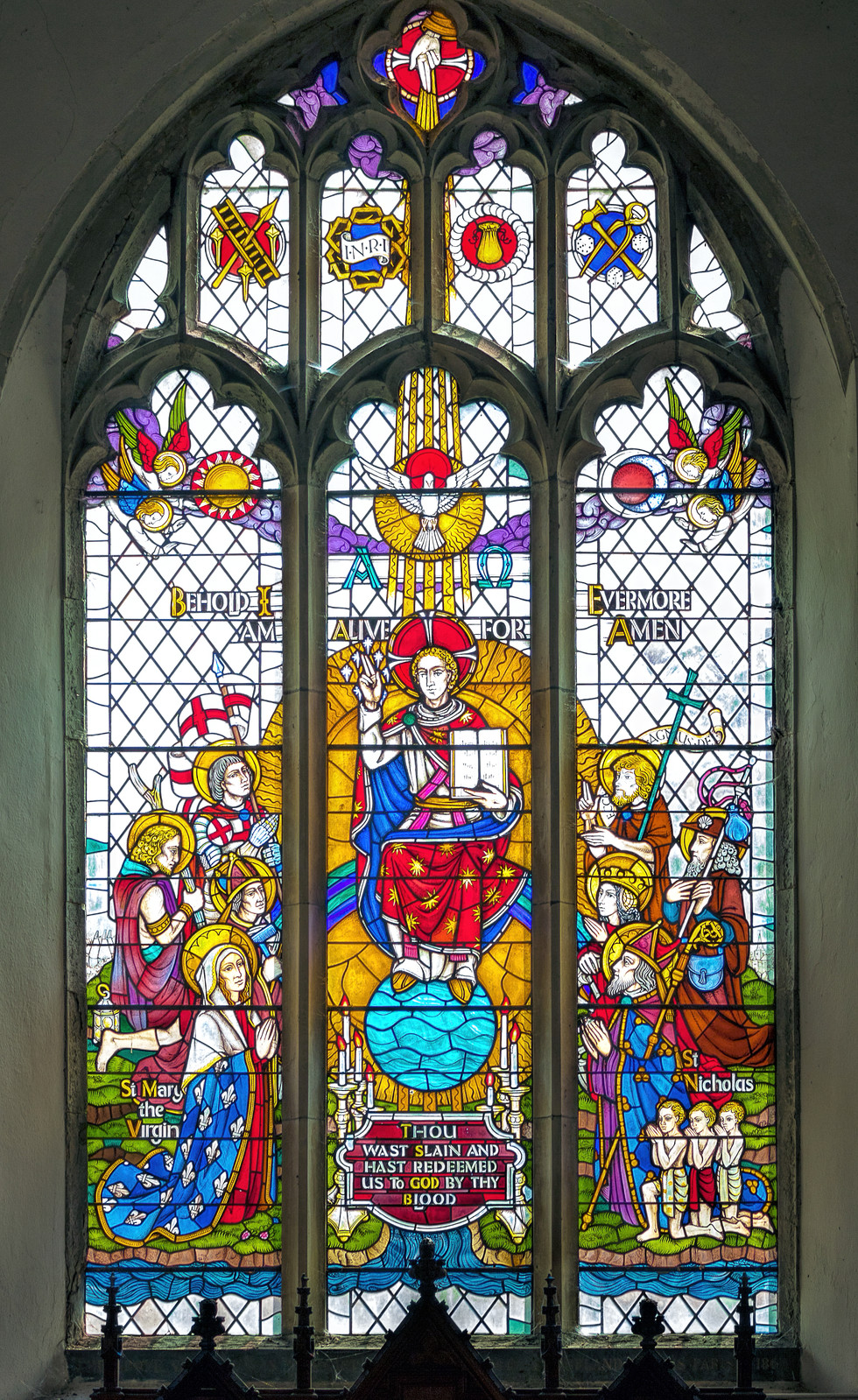 Stained Glass - Pluckley Village