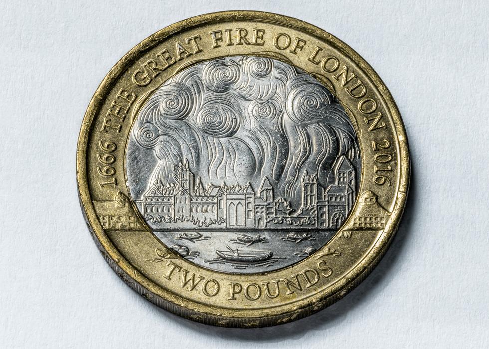 Great Fire of London £2
