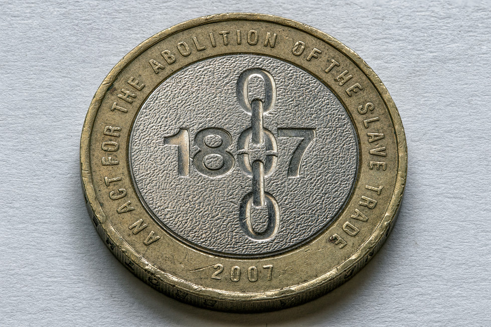 Abolition of the Slave Trade £2