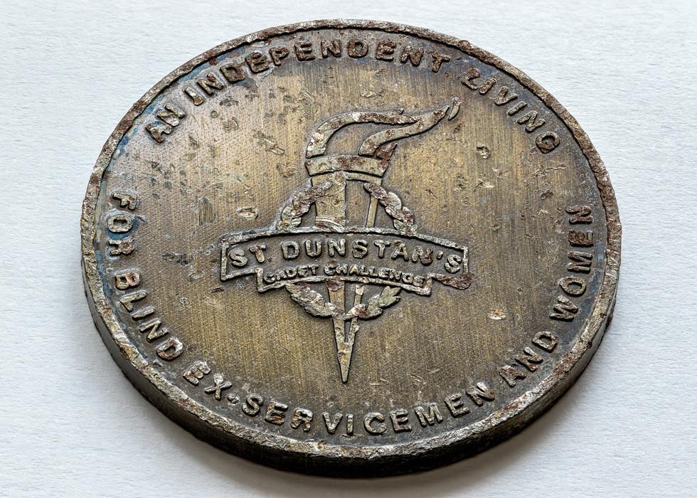 St Dunstan's Cadet Challenge Coin
