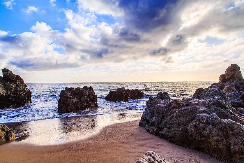Sycamore Cove Beach Production Motorhome Rental WheelhouseLA Los Angeles California