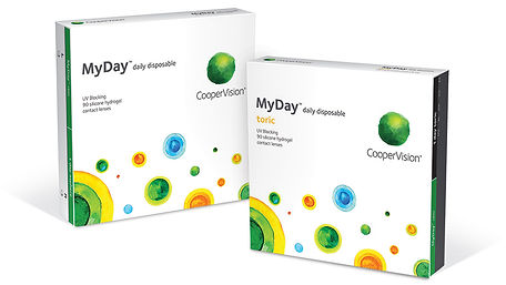 MyDay® Daily Disposable Contact Lenses Cooper Vision West Hollywood Optometric Center