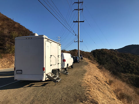 Malibu Stunt WheelhouseLA Production Motorhome Rental Company in Los Angeles.