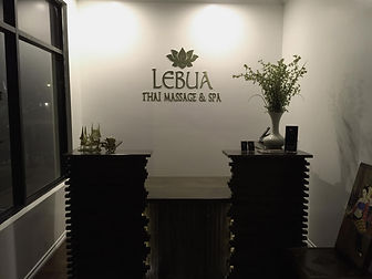 Lobby Signs - Lebua Thai Massage & Spa L