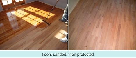 LA Splash Photo -Floor Sanding and Prote